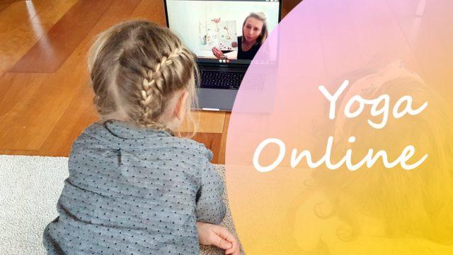 Online yoga les op woensdag